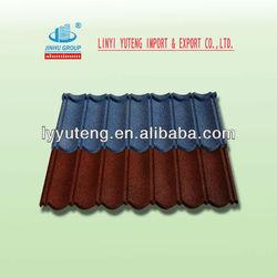 zinc aluminum roofing(stone coated)