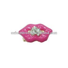 Fashion lips alloy lady ring