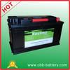 China Manufacturer CBB battery 60038 12v100ah deep cycle car battery