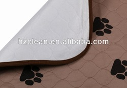 Washable waterproof pet training pad/puppy pad