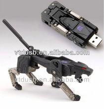 2013 OEM metal transformers 4GB gift golden android robot USB flash drive/pendrive/pen drive gadget