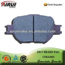 D817 brake pad For Toyota Scion 2005-2010 F Toyota Parts