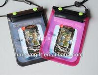 pvc waterproof smart phone bag for swimming