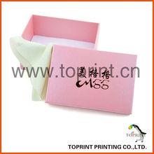 Paper Box Insert Velvet ,Paper Gift Box Manufacturer