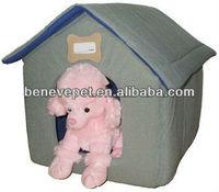 Comfortable fabric pet house