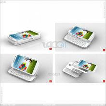 Detachable and Sliding Bluetooth keyboard Case for Samsung Galaxy S4 I9500 P-SAM9500BLUEKB001