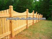 Cedar dog ear wood fence dog kennel fence panel