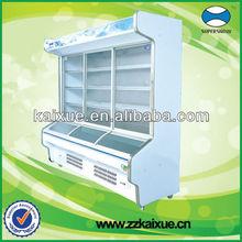Sliding glass door commercial display refrigerator
