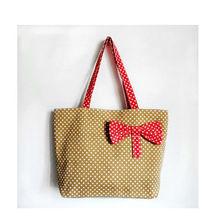 2013 hot sale printed shopping canvas bag