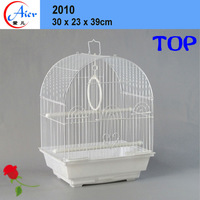chain link fencing birds cage small wire craft bird house