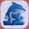 esternoin piedi gonfiabile balena blu per la promozione