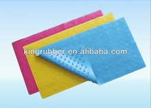 Anti-slip Rubber Shower Mat with Adhesive