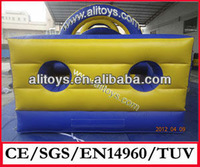 2014 new and hot outdoor playground inflatable obstacle course for rental