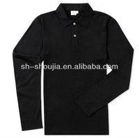 Black polo t shirts for men 2013 fashion custom 100% cotton hot sale newest design Custom Design black men polo shirts