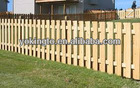 Solid wood picket timber fencing supplies
