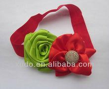 new infant babies rose flower headbands wholesale