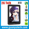 Best bargin 7 android 4.0 a13 tablet pc 2G phone call cheap china tablet pc