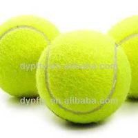 """standard 2.5"""" high bounce trainning tennis balls"""