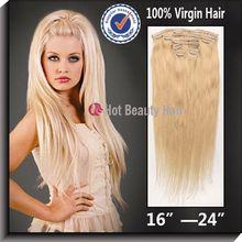 100% virgin remy clip-in fringe bang