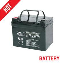 12v 33ah Gel batteries for scooter (SRG33-12)