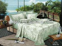 100% Bamboo Fiber Luxury european Bedding Set for hotel and family