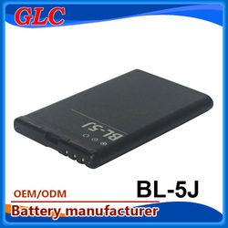 king power batteries bl-5j 750-1500 mAh Super quality