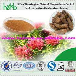 100% natural rhodiola extract cosmetic use natural antioxidant