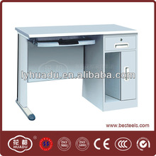 Professional design school furniture computer desk with steel materia from professinal MANUFACTURER