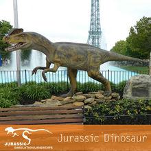 Prehistoric Museum Animatronic Dinosaur Dilophosaurus