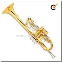 Professional C key Gold lacquer Trumpet (TP8790)