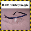 D-025-1 dustproof anti-fog and anti scratch safety goggles