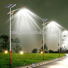 1208 solar street lighting LED lamp 75W led light panel 35V 120W Battery: 24V90AH