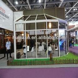 aluminium safe tempered glass sun house ,glass sun room
