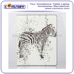New! ultrathin ZEBRA stand PU Leather Case for iPad 2 3 4 accept Paypal