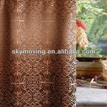 Fabric Hotel Damask Shower Curtain