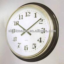 2013 New Modern home decoration high tech product wall clock retro wall clock