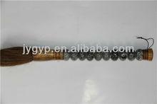 decorative black and white stone handle Chinese writing brush pen