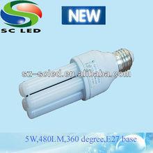 Chinese 5W LG source E27 360 Degree Led lamp