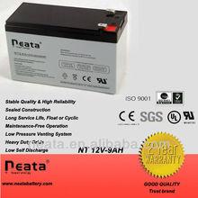 AGM battery 12v 9.0ah for solar power system