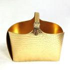 PU Crocodile Storage Gift Magazine Faux Leather Laundry Basket