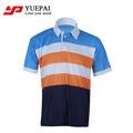 Deportes diseño personalizado polo sublimada 100% poliéster dri fit camisas venta al por mayor