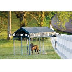 Metal dog kennels