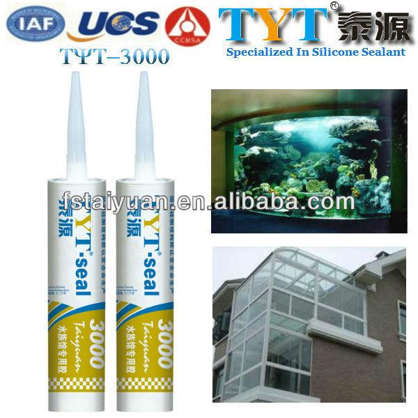 Top quality Fish Tank Silicone Sealant TYT-3000