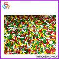 saveurs de fruits bonbons saupoudrer de décoration de gâteau
