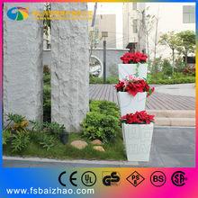 RGB PE Plastic LED flower pot lighting 2013 new item