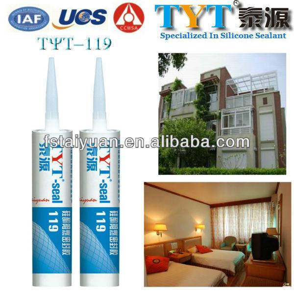 Nicht- toxische tyt-119 glas silikon-dichtstoff