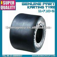 Rental market Go Karting tyre 11*7.10-5 ,super quality kart tire
