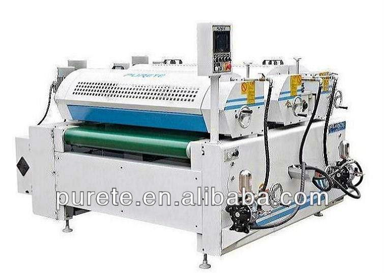 UV Painting Machine / UV Spray Paint Machine Plywood and MDF board UV Coating Machine Line
