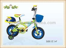 "12"" carton kids bikes/ 4 wheels kids bicycle/ chilad bikes with training wheel"