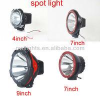 9''75w 4x4 accessories hid spot lighting, 9inch 55w off road hid driving light